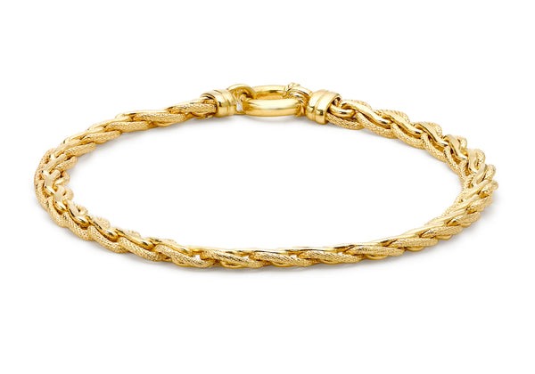 SPIGA Knot Bracelet 18ct Yellow Gold