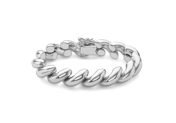 San Marco Bracelet 18ct White Gold