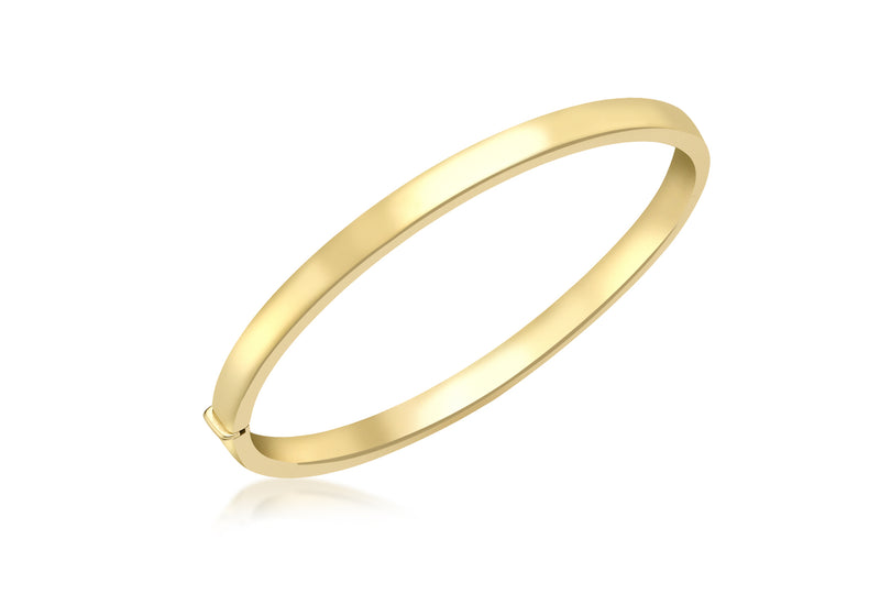 18ct Yellow Gold Bangle