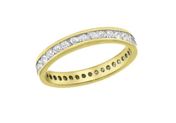 18ct Yellow Gold 0.50ct Diamond Full Band Eternity Ring