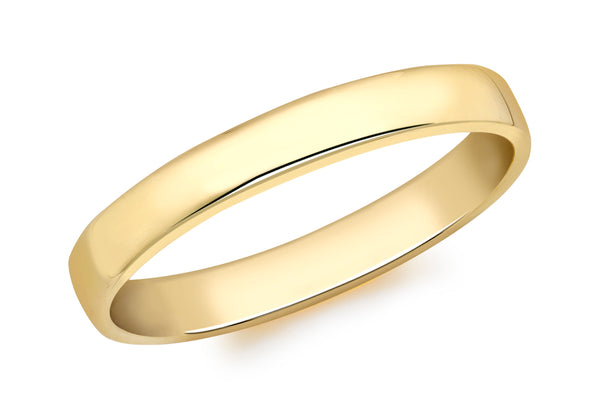 Court Ring 18ct Yellow Gold