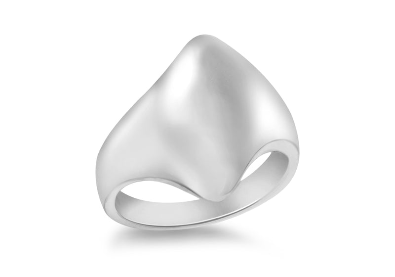 SILVER R454 POLISHED Ring