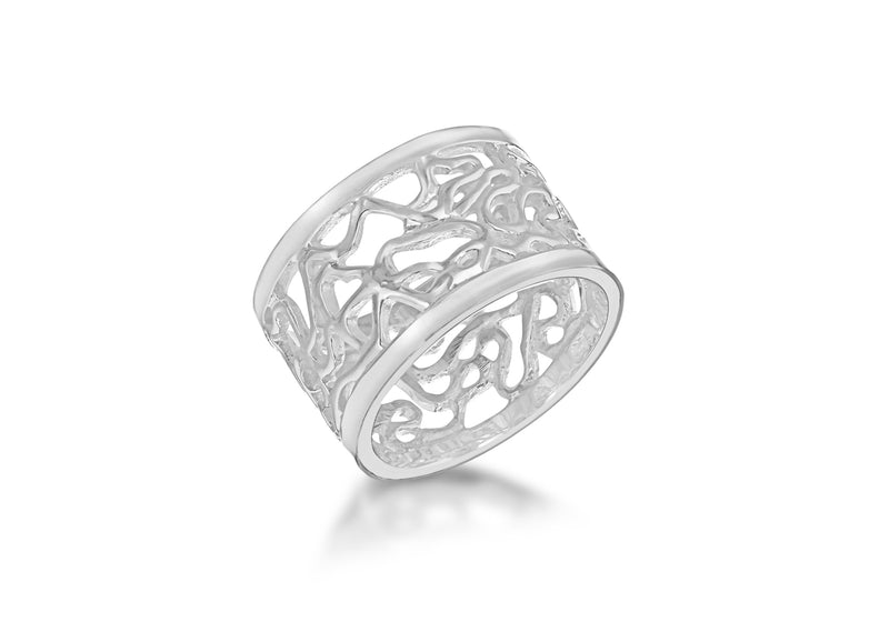 SILVER WIRE BAND Ring
