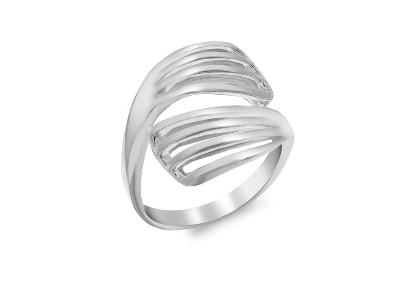SILVER CrossOVER Fancy  Ring