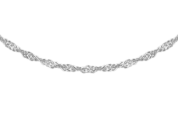 Platinum 30 Twist Curb Chain