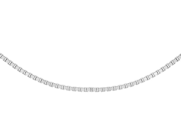 "Platinum 15 Venetian Box Chain 41m/16""9"