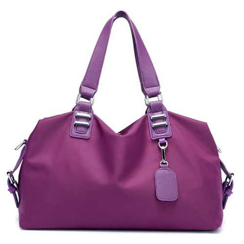 Women Nylon Waterproof Large Capacity Casual Handbag Shoulder Bag Travel Bag