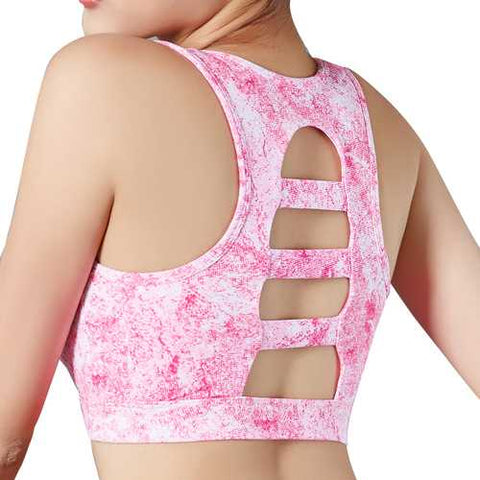 Shockproof Gathering No Rims Sports Bra