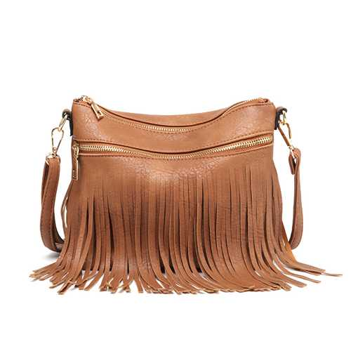 Women Faux Leather Crossbody Bag Shoulder Bag