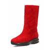 Hogan Womens High Boot Red HXW00N0O980CCR0R007