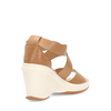 Hogan Womens Wedge Sandal Beige HXW1460A360DDGIS002