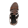 Hogan Womens Sandal Brown HXW1570I320AOFS814