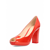 Hogan Womens Pump Open Toe Red HXW2040G991D0AG829