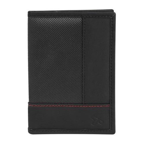 Travelon SafeID Accent Passport Case & Bi-Fold Wallet, Black