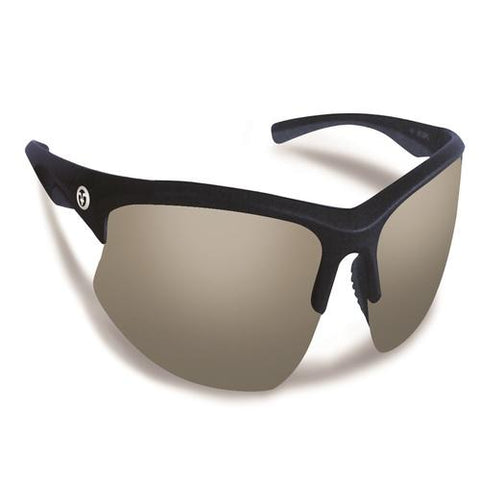 Flying Fisherman Drift Matte Crystal Navy w/Smoke Sunglasses