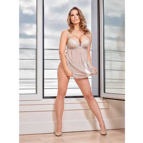 MS Vintage Allure Baby Doll&G Nude L/XL