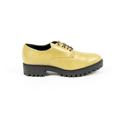 V 1969 Italia Womens Lace Up Shoe C01 VITELLO GIALLO