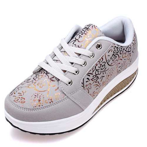 Women's Casual Shake Sneakers Shoes Non-slip Platform Shoes