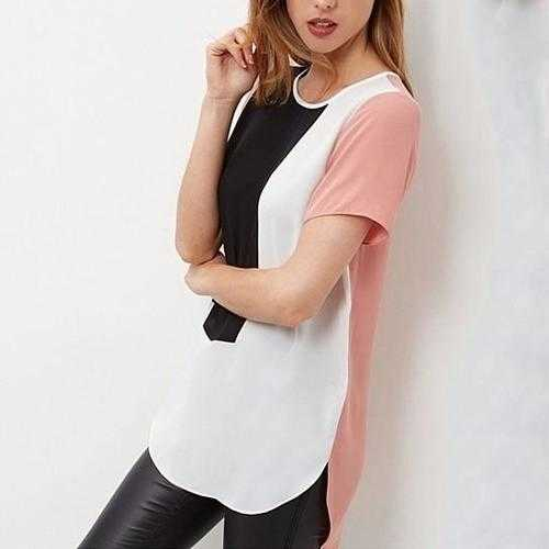 Modernista Monochrome Chiffon Top