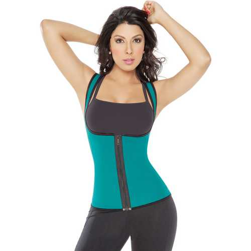 Fashion Slim Zip On The Front Body Shaper