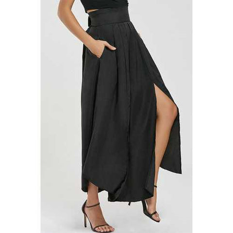 Fashion high-low Open Slit dress