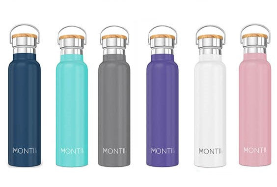 Botella térmica Montii (600ml). Disponible en 6 colores.