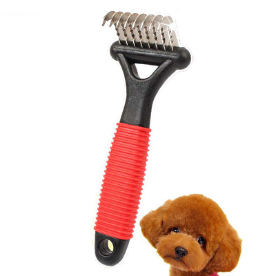 Pet Dematting Comb Professional Grooming Tool - Groomed Petz