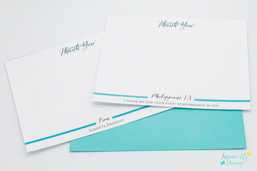 Personalized Stationery with Envelopes Set