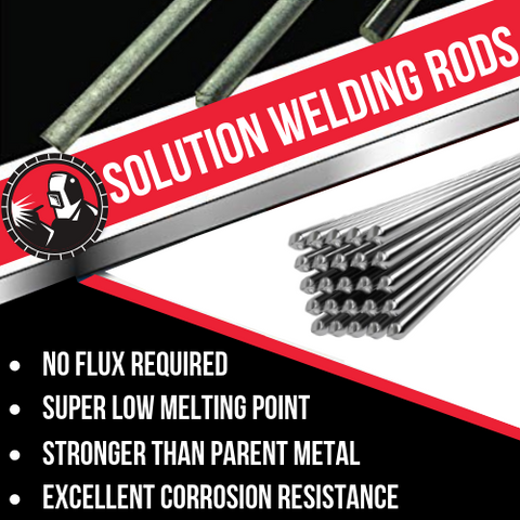 Image of Solution Welding Flux-Cored Rods - LIMITED STOCK