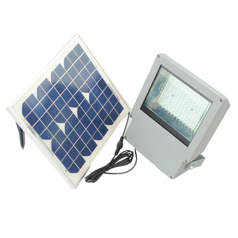 108 LED Solar Powered Flood Light w/ Remote Control/Timer