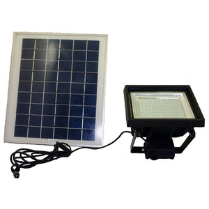 108 LED High Output LED Solar Flood Light With Remote Control and Timer