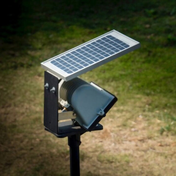 Industrial Solar Powered Outdoor LED Flood Light with Optional Motion PIR