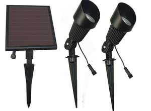 Solar Spot Light 2-Light Head - SGG-S24
