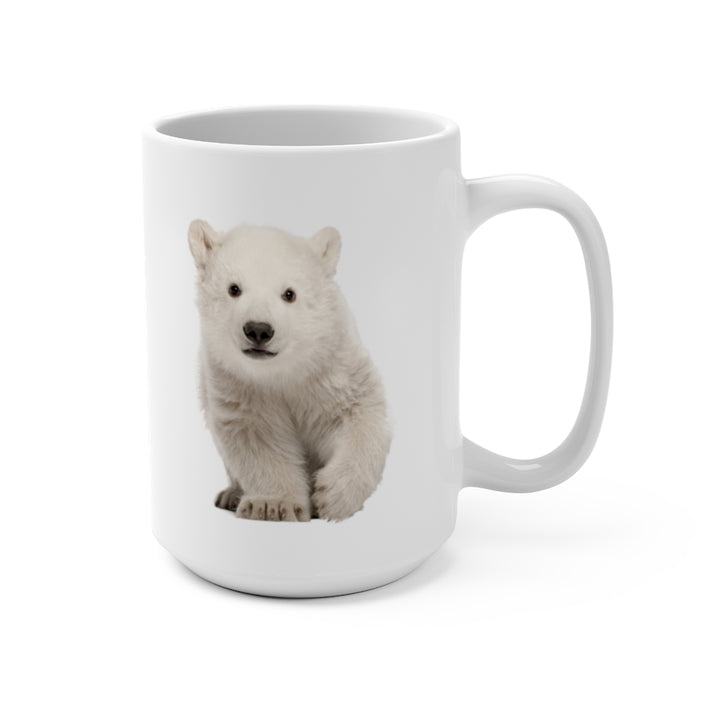 Wildlife SOS Series (Polar Bear Cub) - Coffee Mug 15oz