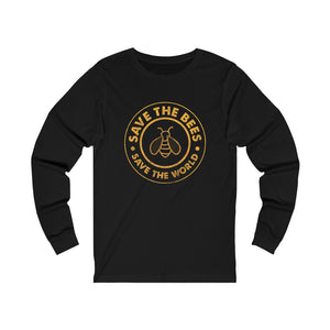 Save the Bees - Unisex Jersey Long Sleeve Tee