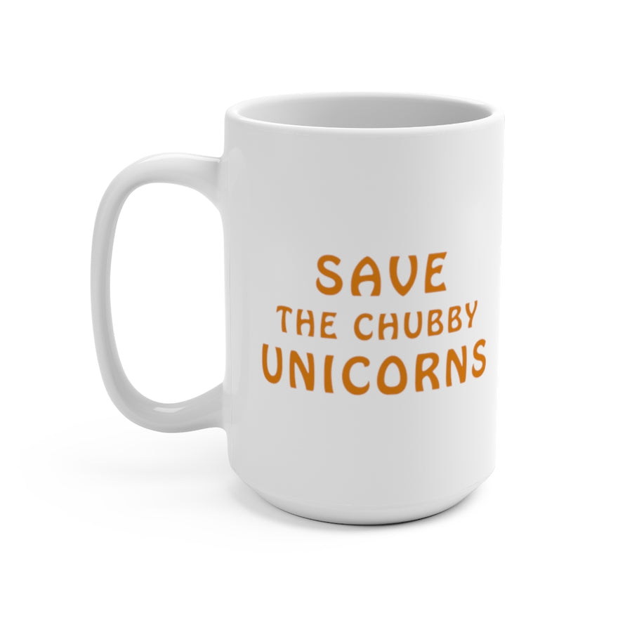 Chubby Unicorns - Coffee Mug 15oz