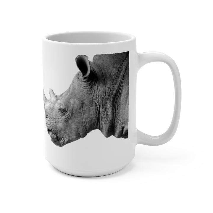 Wildlife SOS Series (Rhino) - Coffee Mug 15oz