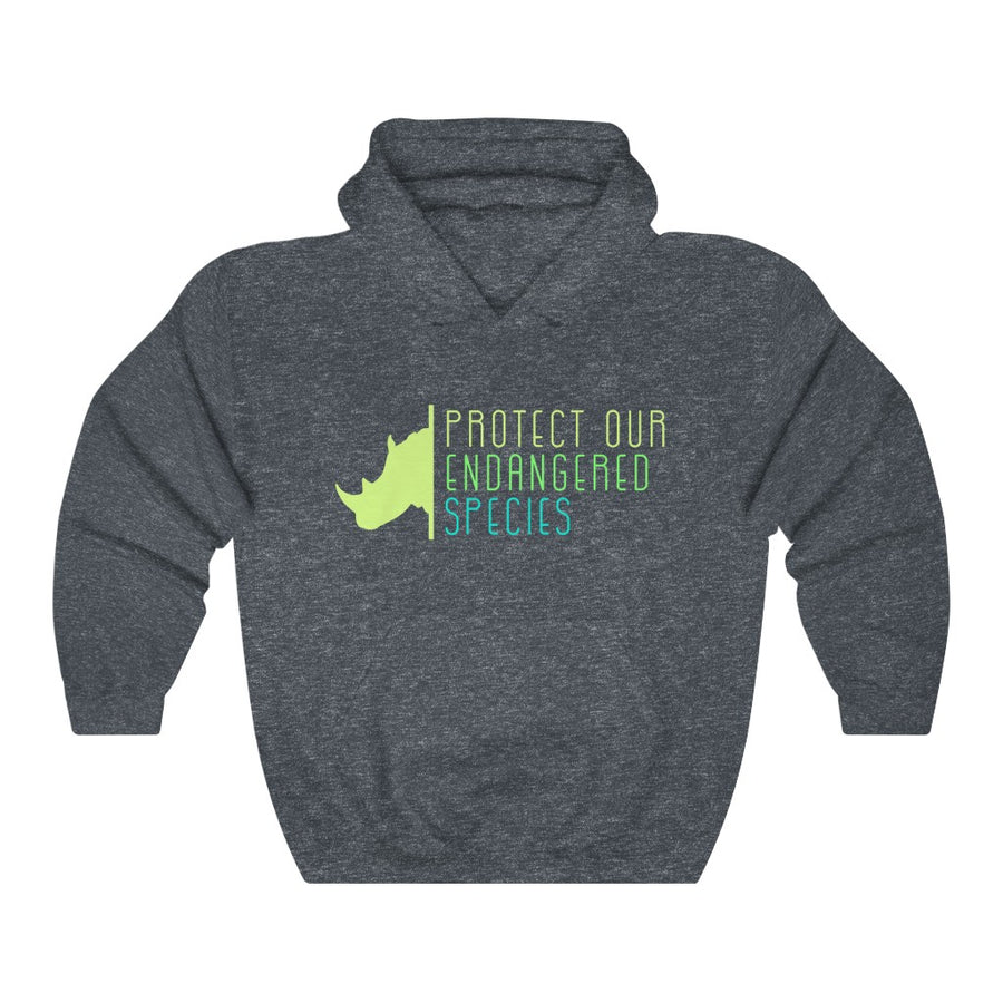 Protect Our Endangered Species - Unisex Heavy Blend™ Hooded Sweatshirt