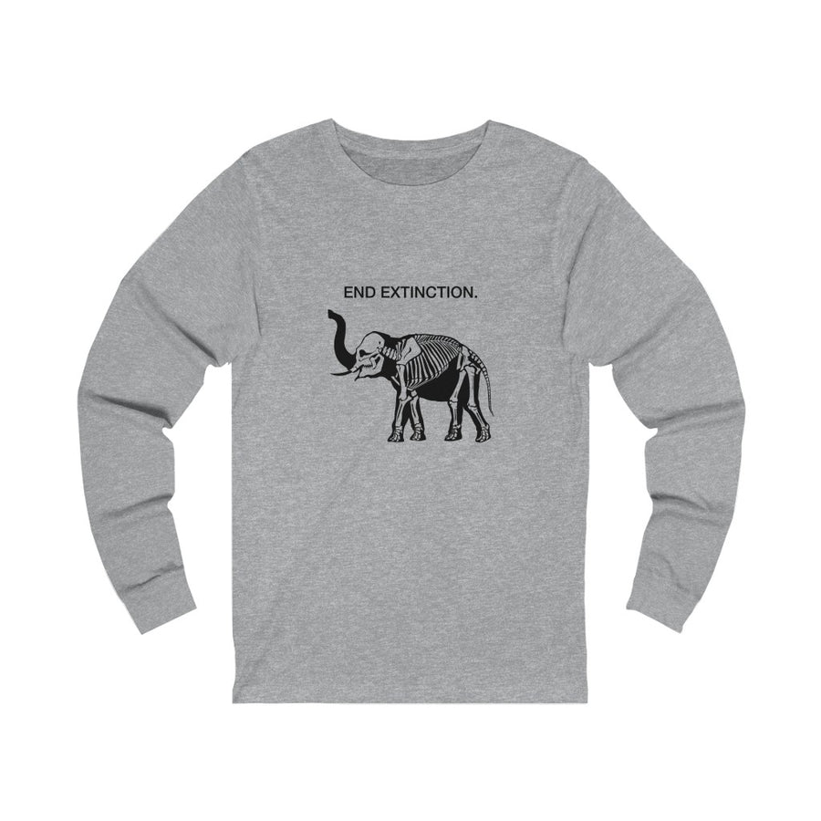 End Extinction - Unisex Jersey Long Sleeve Tee
