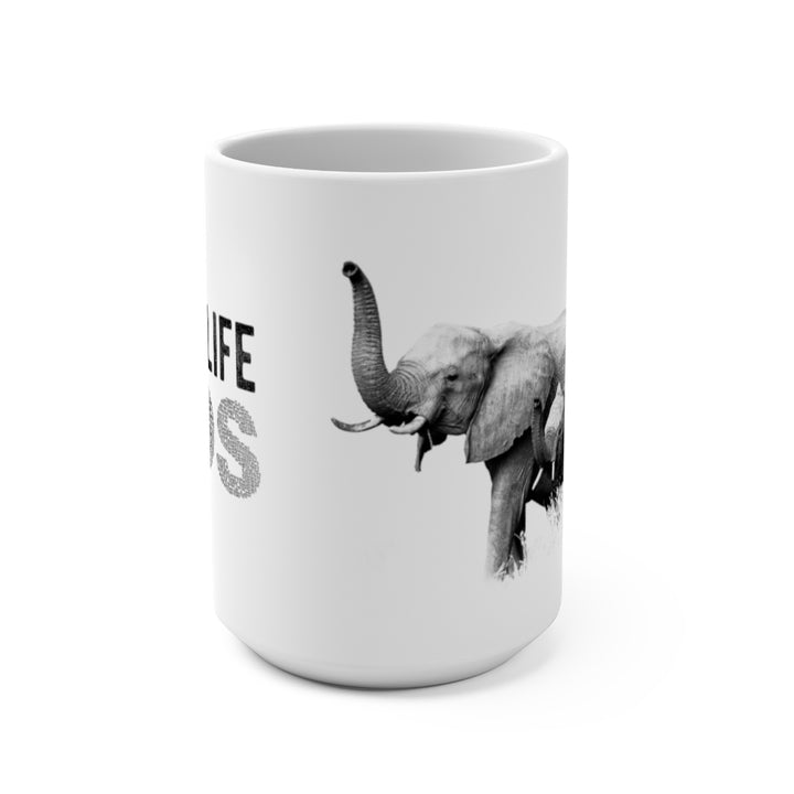 Wildlife SOS Series (Elephant Family) - Coffee Mug 15oz