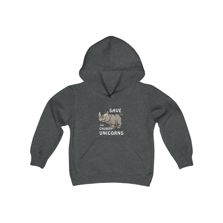 Chubby Unicorns - Youth Heavy Blend Hooded Sweatshirt