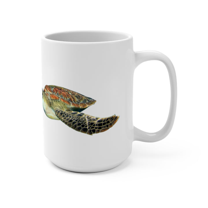 Save the Seas (Sea Turtle) - Coffee Mug 15oz