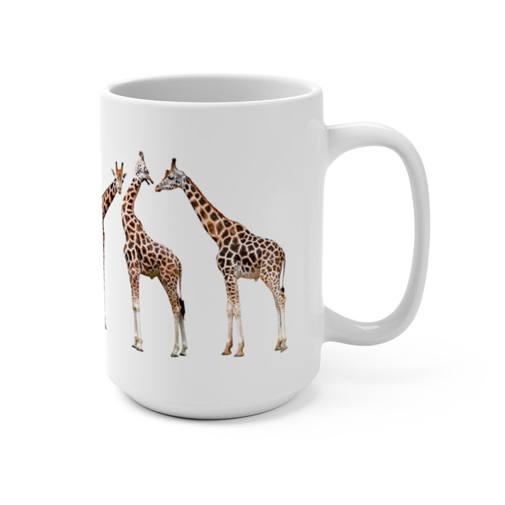 Wildlife SOS Series (Giraffes) - Coffee Mug 15oz