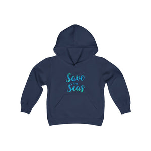 Save the Seas - Youth Heavy Blend Hooded Sweatshirt