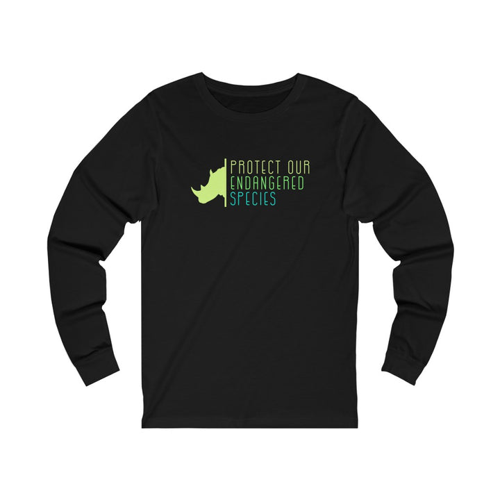Protect Our Endangered Species - Unisex Jersey Long Sleeve Tee