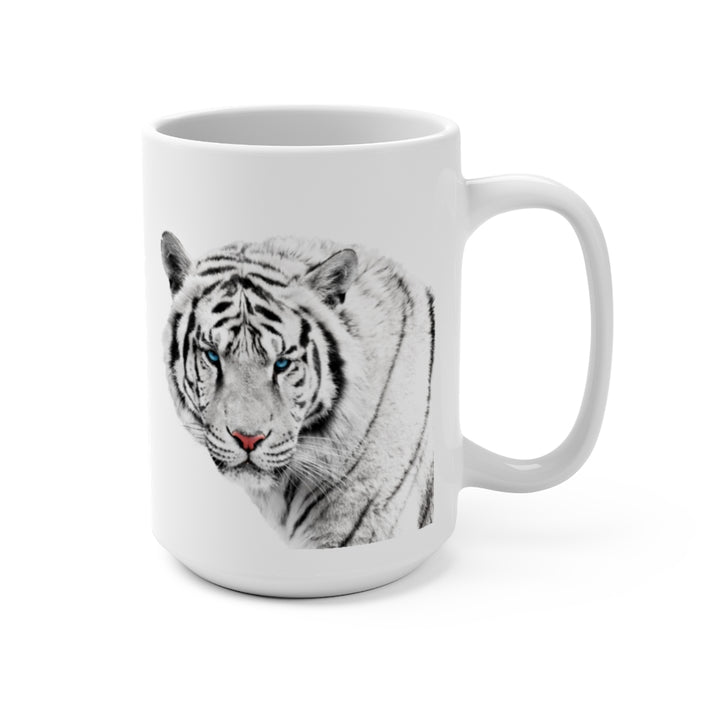 Wildlife SOS Series (White Tiger) - Coffee Mug 15oz
