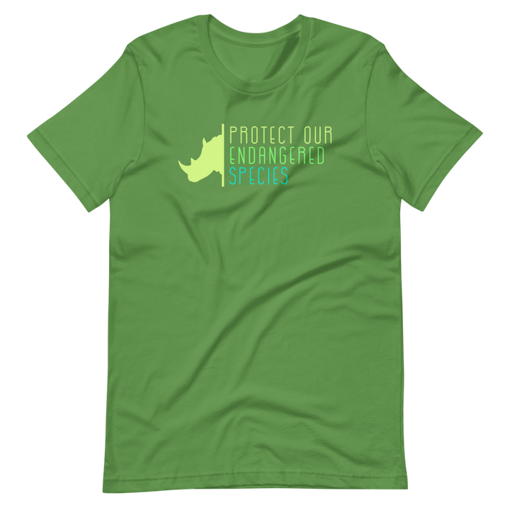 Protect Our Endangered Species - Mens T-Shirt