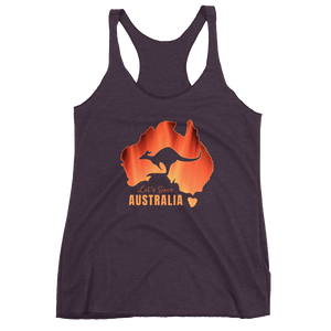 Let's Save Australia - Womens Racerback Tank