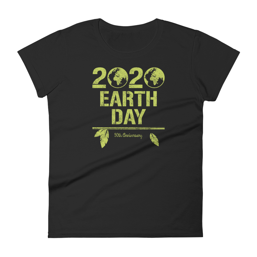 2020 Earth Day: 50th Anniversary - Womens T-shirt