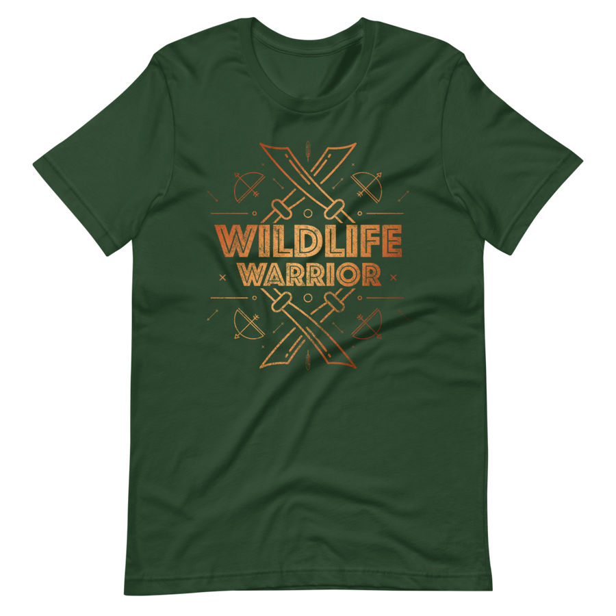 Wildlife Warrior - Mens T-Shirt